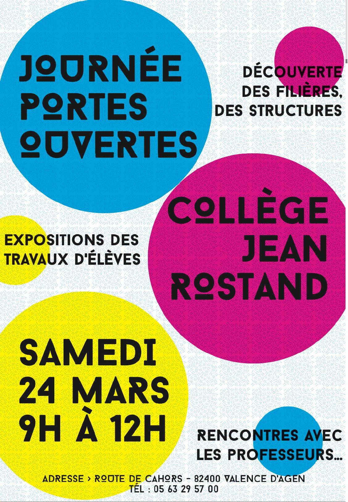 Blog - Accueil - Collège Jean Rostand